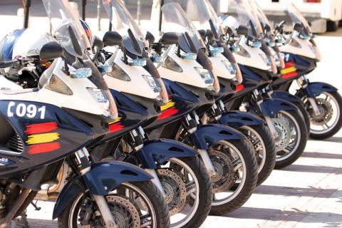 La Policía Nacional estrena sus primeras motos eléctricas, todas serán así a partir de ahora