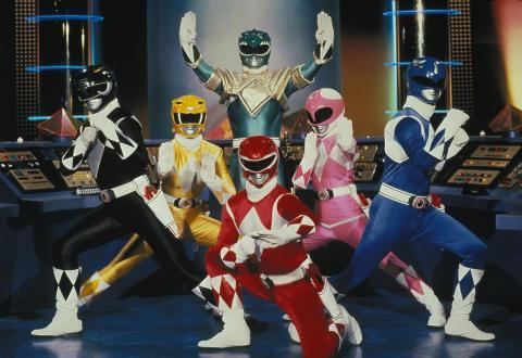 Los 'Power Rangers' originales.