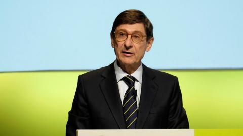 El presidente de Bankia y futuro presidente de CaixaBank, José Ignacio Goirigolzarri
