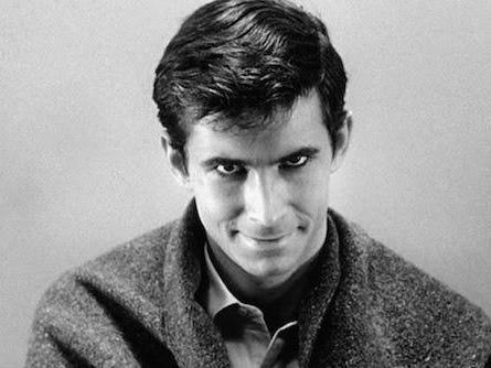 Anthony Perkins como Norman Bates.