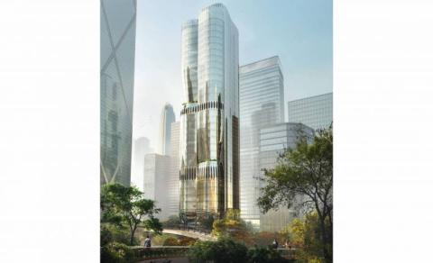 Así será la oficina de Hong Kong del estudio de Zaha Hadid