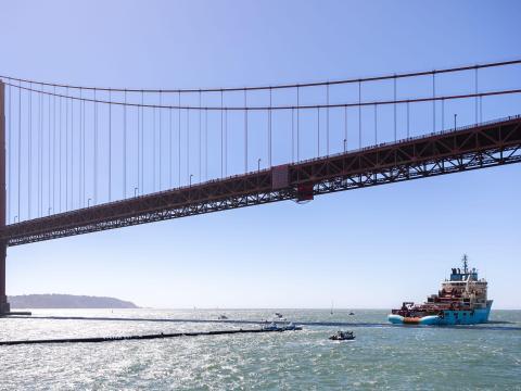 Ocean Cleanup en San Francisco.
