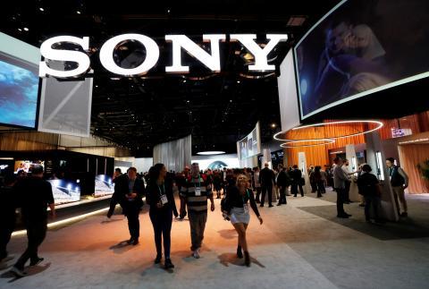Stand de Sony en el CES de Las Vegas de 2020.
