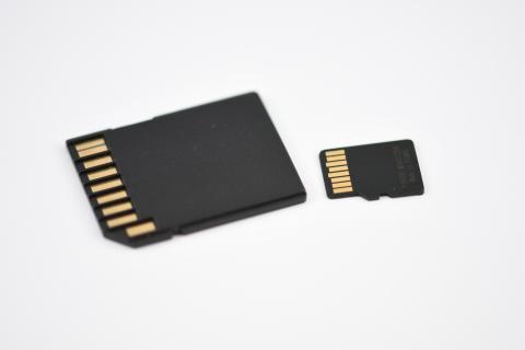 Tarjetas MicroSD y SD