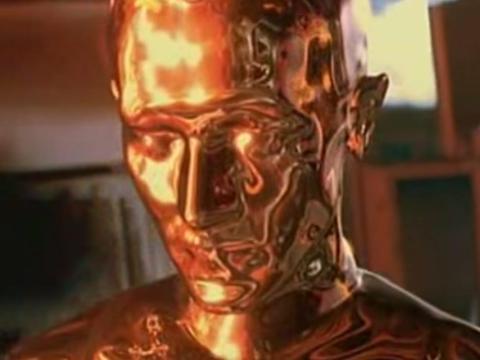 El T-1000 en 'Terminator 2.'.