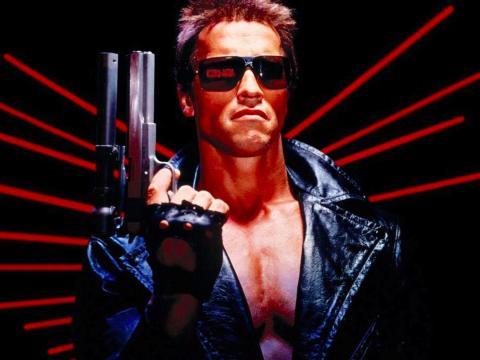 Arnold Schwarzenegger en 'Terminator'.