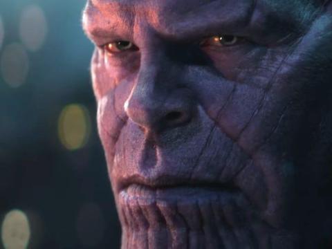Thanos en 'Los vengadores: Infinity War'.