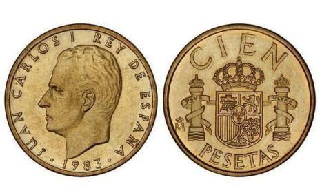 100 pesetas de 1983