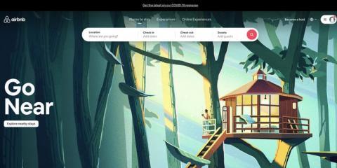 Airbnb rediseñó su web para poner énfasis en los destinos locales