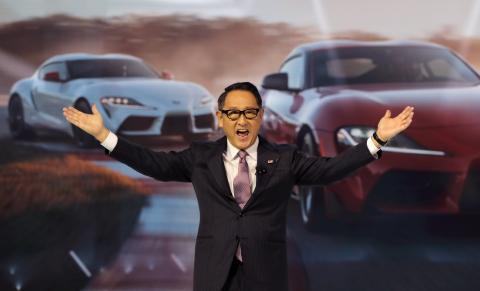 Akio Toyoda, presidente de Toyota