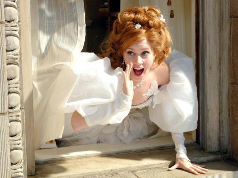 Amy Adams en 'Encantada: la historia de Giselle'.