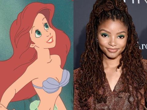 Halle Bailey interpretará a Ariel.