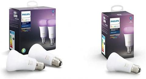 Bombillas Philips Hue White and Color