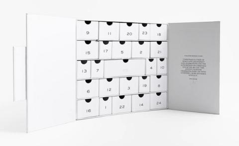 Calendario de adviento Zara.