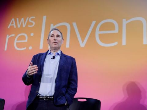 El CEO de Amazon Web Services, Andy Jassy.