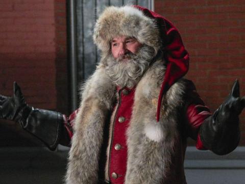Kurt Russell en 'Crónicas de Navidad'.