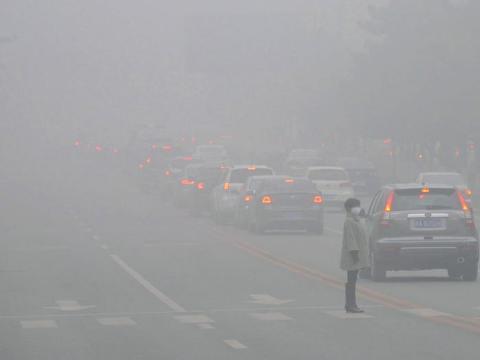 contaminación por la circulación