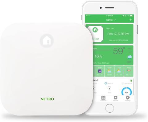 controlador de riego inteligente Netro