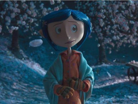 'Coraline' destaca por ser inquietante pero hermosa.