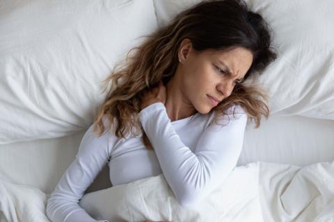 Dolor de cuello postura para dormir