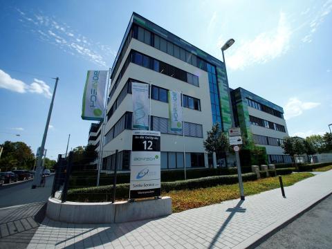 FOTO DE ARCHIVO: Sede de la empresa biofarmacéutica BioNTech en Mainz.
