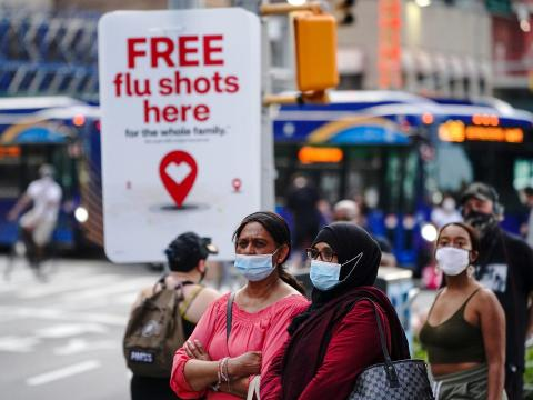 Getting a flu shot could reduce your risk of getting COVID-19, preliminary research suggests