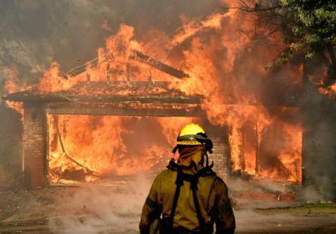 Incendios en California en 2017