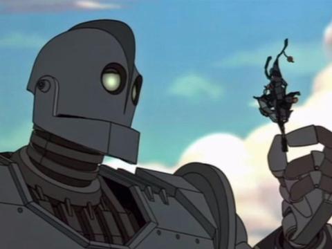'El gigante de hierro' cuenta una conmovedora historia de aceptación.
