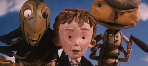 ¿Te gustaría ver una película de 'James y el melocotón gigante'?