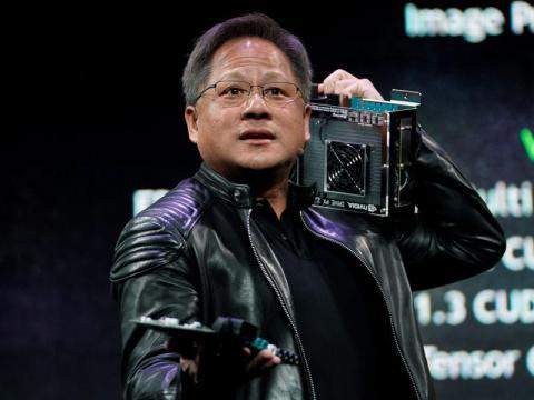 Jensen Huang, CEO Nvidia