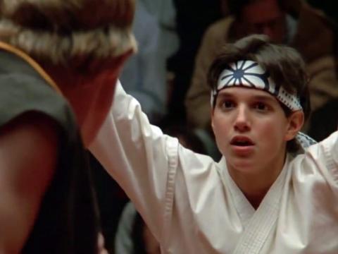 """The Karate Kid"" has plenty of action."