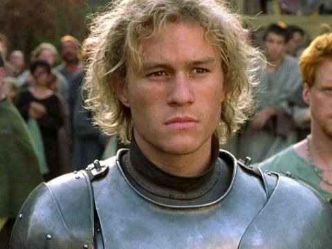 Heath Ledger en 'Destino de caballero'.