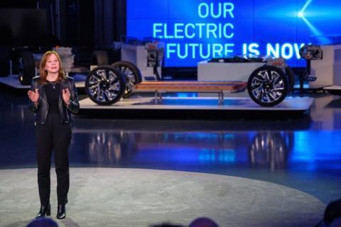 Mary Barra, CEO de GM