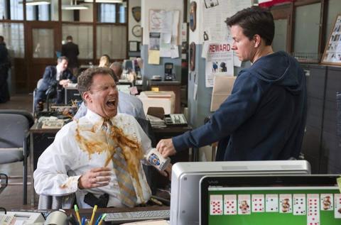 Will Ferrell y Mark Wahlberg en 'Los otros 2'.