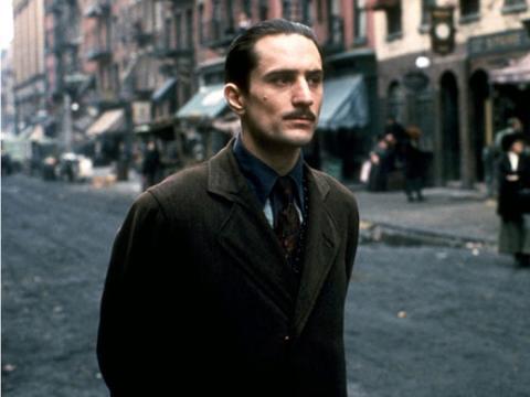 Robert De Niro en 'El Padrino II'.