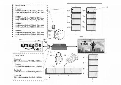 Patente antipirateria de Amazon