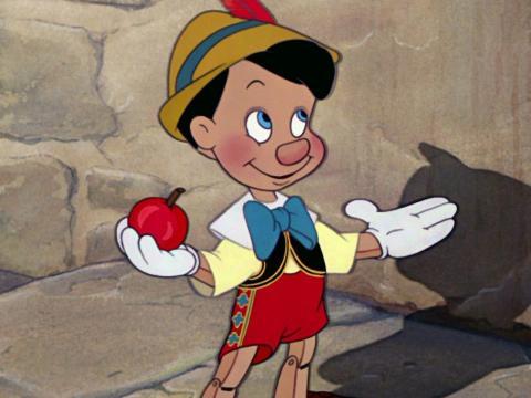 'Pinocho' fue estrenada originalmente en 1940.