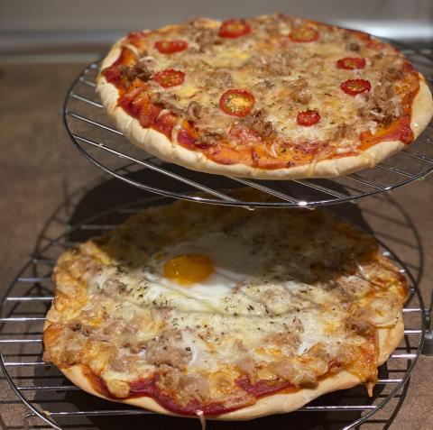 Pizzas al horno