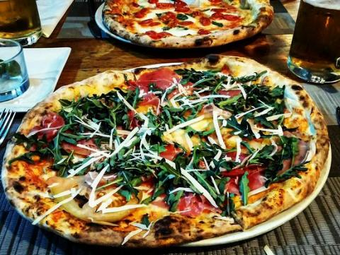 Pizzeria la Pulcinella, Girona.