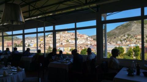 Restaurante La Terraza, Cuenca.