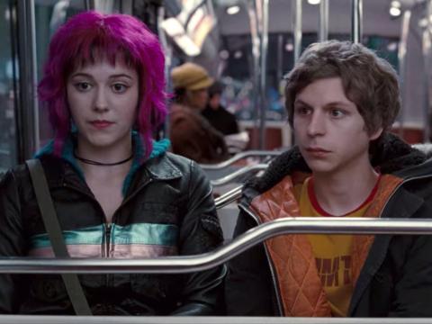 Mary Elizabeth Winstead y Michael Cera en 'Scott Pilgrim contra el mundo'.