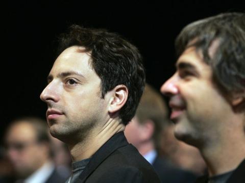 Sergey Brin y Larry Page se han mantenido durante los últimos años en un segundo plano