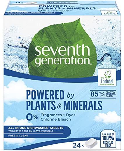 Seventh Generation detergente