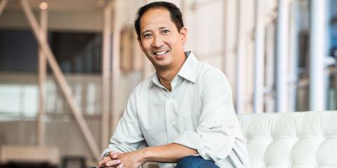 El socio de Accel, Ping Li, que introdujo HotelTonight a la firma en 2011.