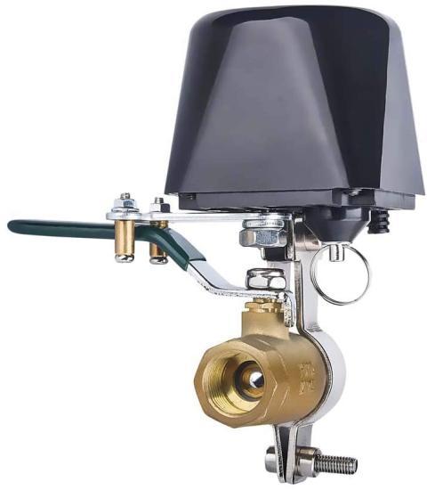 válvula agua y gas smart con Alexa