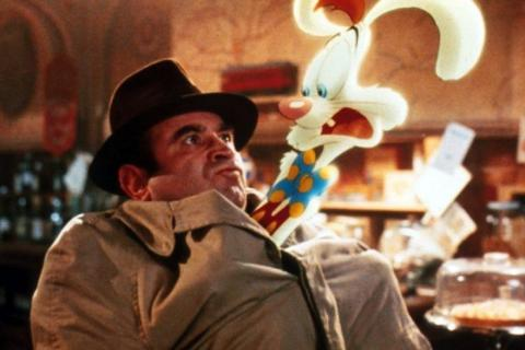 La película mezcla escenas de animación y no animación.