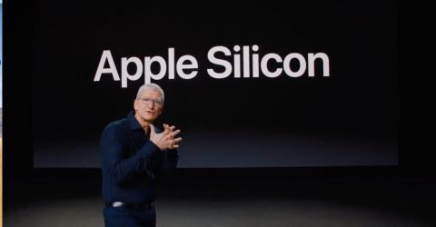 El CEO de Apple, Tim Cook en el WWDC.