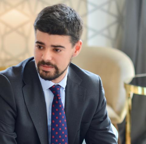 Armando Platero, encargado de la comunicación de DEGIRO y responsable de negocio para España.