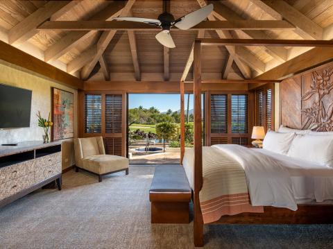 Un bungalow en Mauna Lani Residences.