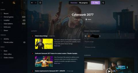 Como descargar CyberPunk2077